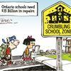 Today's cartoon: Crumbling schools